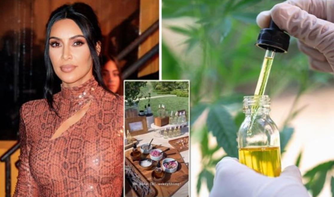 Kim Kardashian, partnerka Kanye Westa, chváli CBD produkty - nahradila Xanax