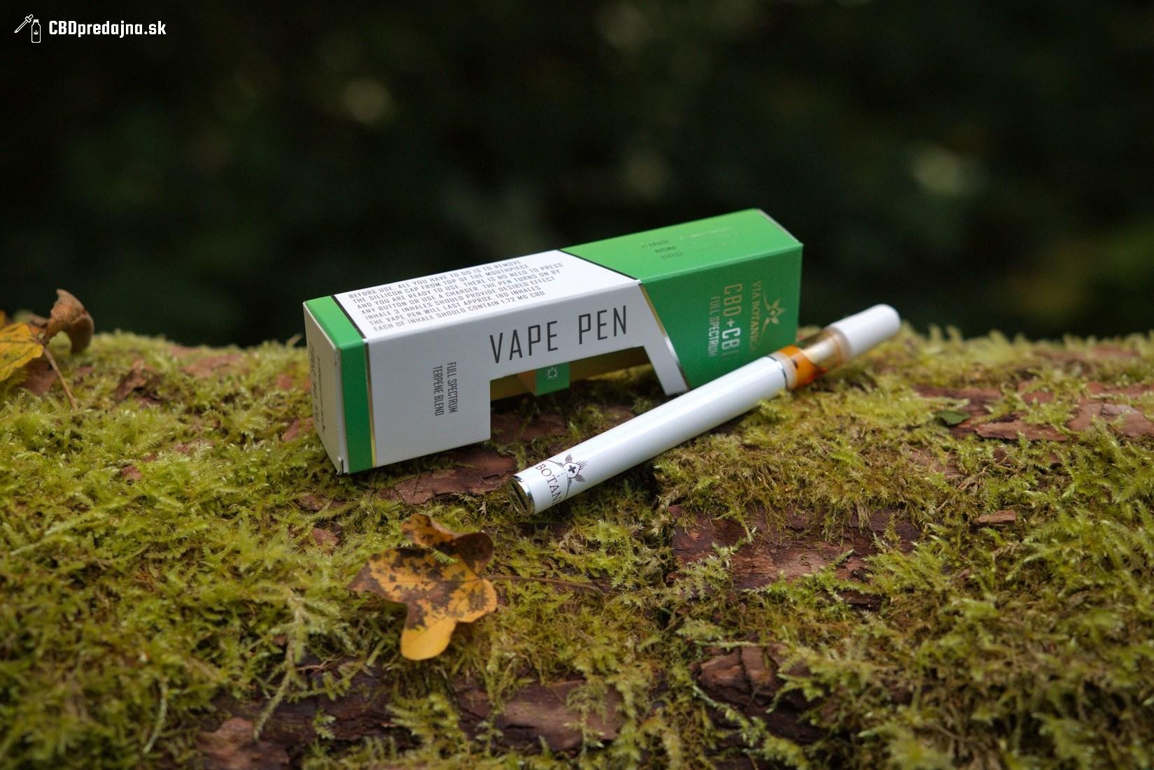 CBD CBG e cigareta VIA BOTANICA