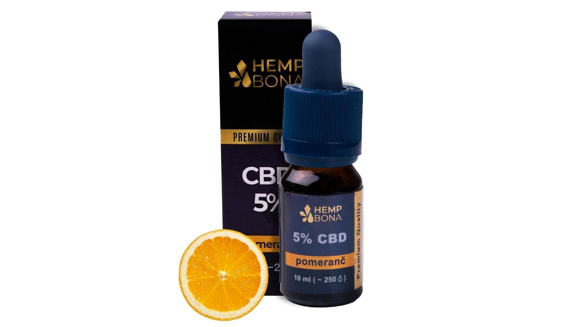 Ochutený CBD olej - CBD kvapky s príchuťou